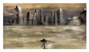 Path to Desolate City by robot51ck