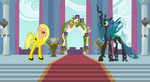 The Bride vs Queen Chrysalis by cartoonfan22
