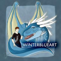 Winter + Me ID by WinterBlueArt