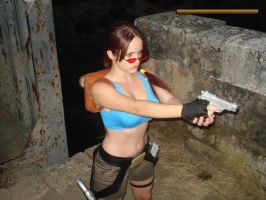 Lara Croft ingame by Val-Raiseth