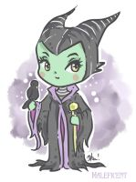 Maleficent by Dharilya