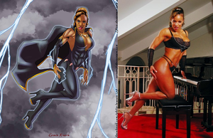 Grace Rivera Is Storm Vixen By Ulics by zenx007