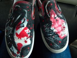MCR vans autographed by Very-HandsomeAwkward