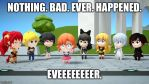 RWBY chibi episode 6 meme. by Wcher999