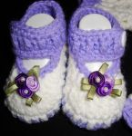 Tasha's booties-closeup by Crochet-by-Clarissa