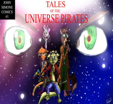 Tales of the Universe Pirates cover issue 1 by TheDarkJAvenger