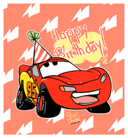Cars 10th anniversary by RexiDoodle