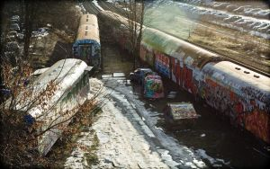 Vintage Trainyard 2 - 16:10 by EOSthusiast