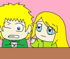hi Tweek by sweetgirl-Liza