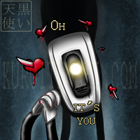 GLaDOS loves YOU by kuroitenshi13