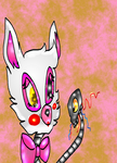 Chibi Foxie/ Mangle by ModernLisart
