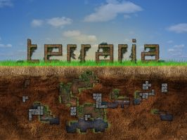 Terraria Wallpaper - 3 by ivarhill