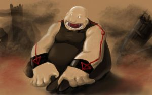 FMA: Gluttony by shadow017