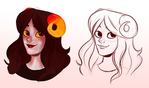 Aradia wip by GiovannaConsolo