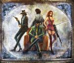 Lupin family by Gold-copper