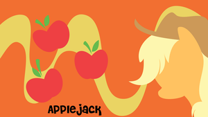 Applejack Wallpaper by oOBrushstrokeOo