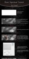 Basic Signature Tutorial -PS- by ossie7