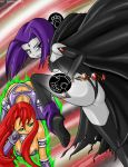 Star and Raven Attack by sseanboy23