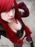 Katarina High Command Preview cosplay by MelodyxNya