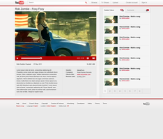 YouTube redesign by phoenixq