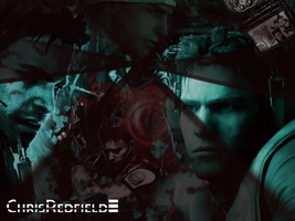 Chris Redfield by Sandroxp