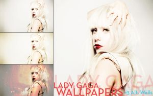 Lady Gaga Wallpapers +3 Alts. by TrickD123