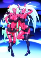 scanty and knee socks by cva1046