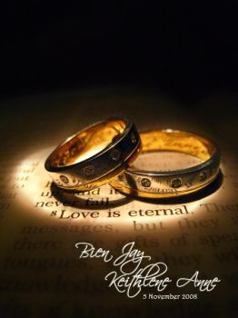 wedding rings by hunched