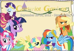 Canterlot Gardens by ZoruaAWESOME
