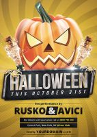 Halloween - Flyer by VectorMediaGR
