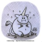 Overweight Unicorn by AK-Is-Harmless