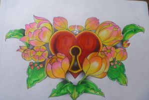 heart shaped by tr3slibras