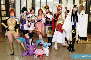 Team Pokemon Conquest~ (FINALLY!! XD) by FalkenGear