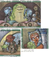 clone wars returned cards pt.2 by katiecandraw
