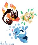 Generation 7-Sun and Moon Starters by Jazzekat