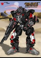 Beast Wars Transformers Optimus Primal Updated by GoldRangerKicksass
