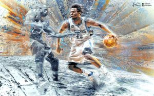 Andrew Wiggins NBA Wallpaper 2.0 by skythlee