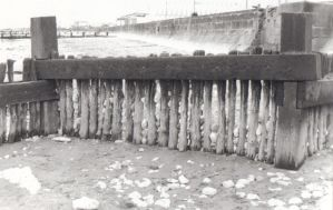 Breakwater and pebbles by blue-but-beautiful