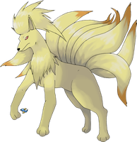 Ninetales: Regular Version by Xous54