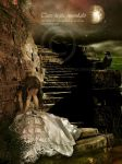 Tears in the moonlight by CindysArt