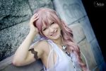 Smiling  Serah ~ by HystericalDemon