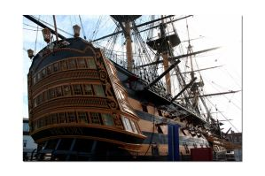 HMS Victory No10 by unclejuice