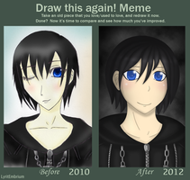 Xion Before and After by LyritEmbrium