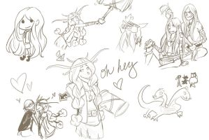HTTYD doodle dump by LasciviousStrawberry