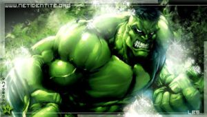 PSP wallpapers hulk by Netidentite