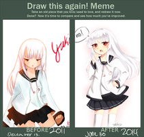 Before And After MEME by SeiChuu