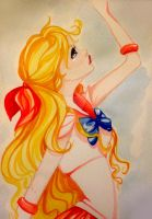 Sailor Venus watercolor by Shimakotodo