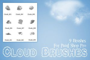 Cloud Brushes PSP by zememz