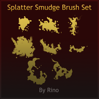 Splatter Brush By Rino by Son-Baby