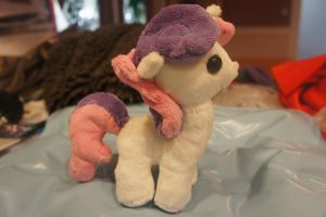 Sweetie Belle Plush :SOLD: by LordBoop